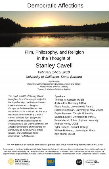 Cavell Poster